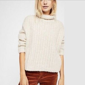 Free People Fluffy Fox Sweater New with Tags